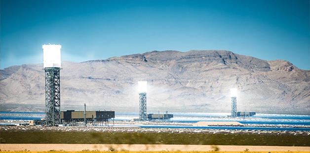 نیروگاه های سلول خورشیدی